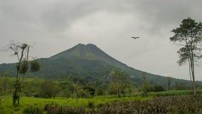 O vulcão de Arenal Imagem de Stock Royalty Free