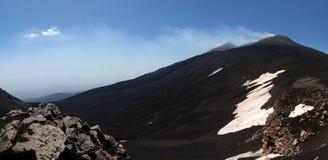 O vulcão de Etna Fotografia de Stock Royalty Free