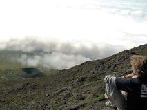 O vulcão de Pico imagens de stock royalty free