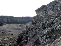 O vulcão de Pico fotografia de stock