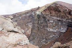 O vulcão o Vesúvio Imagem de Stock