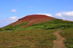 O vulcão Raudholar Imagem de Stock