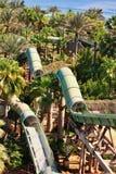 O waterpark de Aquaventure de Atlantis o hotel da palma Imagem de Stock Royalty Free