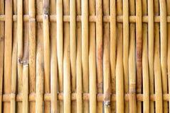 O weave de bambu Imagem de Stock Royalty Free