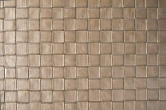 O weave de couro como o fundo Fotos de Stock Royalty Free