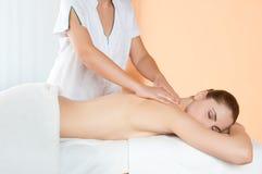 O Wellness e relaxa Fotos de Stock Royalty Free