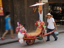 O wheelbarrow Imagem de Stock