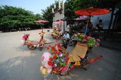O wheelbarrow Imagens de Stock