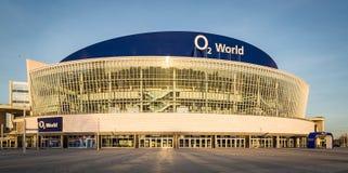 O2 Światowa arena w centrum Berlin Zdjęcia Royalty Free