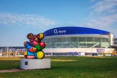 O2 Światowy stadium w Berlin, Niemcy Fotografia Royalty Free