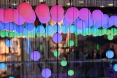 Oświetleniowa dekoracja indoors obrazy royalty free