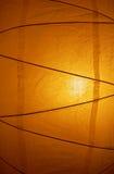 Oświetleniowa papierowa lampa Fotografia Stock
