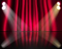 oświetleniowa scena Obraz Stock