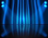 oświetleniowa scena Zdjęcie Stock