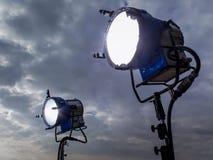 Oświetleniowe techniki XI. Obraz Stock