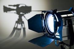 oświetleniowy studio Zdjęcie Stock