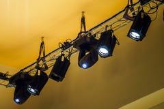 Oświetleniowy zestaw dla musicalu koncerta Obraz Royalty Free