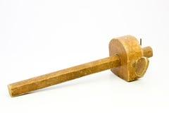 O Woodwork velho utiliza ferramentas o calibre de marcação Fotos de Stock Royalty Free