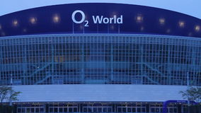 O2 World arena Berlin stock video