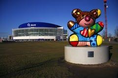 O2 World arena, Berlin-Friedrichshain Stock Photos