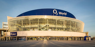 O2 World Arena in the center of Berlin Royalty Free Stock Photos