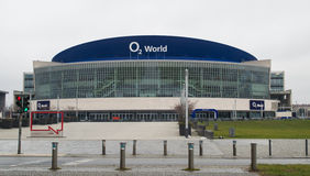 O2 world berlin. O2 world event arena in berlin, germany Royalty Free Stock Images