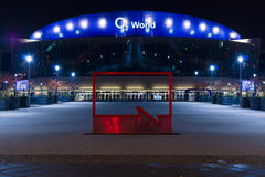 O2 World - the largest multifunctional indoor arena in Berlin Royalty Free Stock Photos