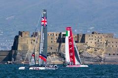 34o World series 2012 do copo de América em Nápoles Imagens de Stock Royalty Free