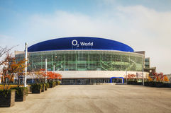 O2 World stadium in Berlin, Germany Royalty Free Stock Photography