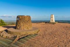 O Wrekin, Shropshire, Inglaterra, Reino Unido fotos de stock