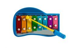 O xilofone para a criança Fotografia de Stock Royalty Free