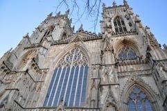 O yorkminster York Inglaterra da catedral fotografia de stock