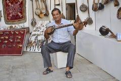 O'zbek Musician Royalty Free Stock Photos