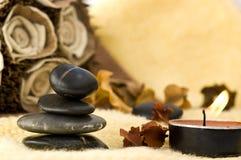 O zen gosta de termas Fotos de Stock