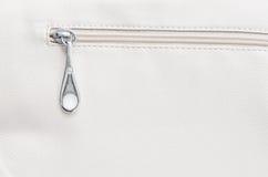 O zipper bege foto de stock royalty free