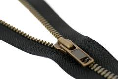 O Zipper isolou-se Imagens de Stock