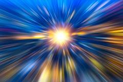 O zumbido rápido acelera a alta velocidade do negócio que executa o sumário Fotografia de Stock