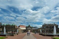 O Zwinger, Dresden Fotografia de Stock Royalty Free
