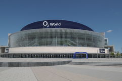 O2 aena in Berlin Royalty Free Stock Photography
