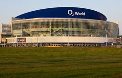O2 arena in Berlin. The new O2 arena in Berlin Germany Stock Photography