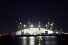 O2 Arena - Jahrtausend-Haube Lizenzfreie Stockbilder