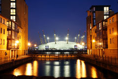 O2 Arena - Millenium Dome Royalty Free Stock Photos