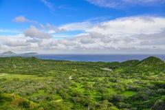 Oahu ö, Hawaii, USA Arkivbild