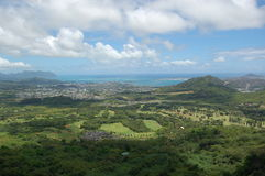 Oahu. This is a landscape shot of oahu Stock Photography