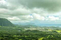 Oahu au vent photographie stock