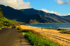 Oahu beach Royalty Free Stock Photography