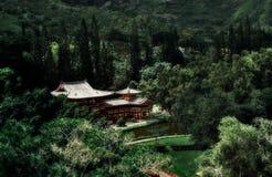 ναός της Χαβάης oahu byodo Στοκ εικόνα με δικαίωμα ελεύθερης χρήσης