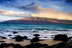 Oahu Coastline Royalty Free Stock Photography