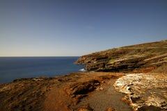 Oahu costero Hawaii imagen de archivo libre de regalías