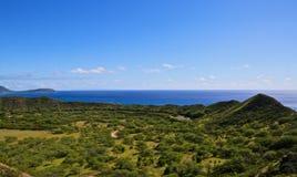 Oahu Diamond Head lizenzfreie stockfotos